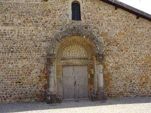Eglise en galets à Penol
